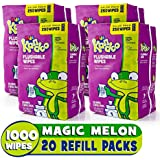 Kandoo 250 Count, 4 pack refills, Magic Melon