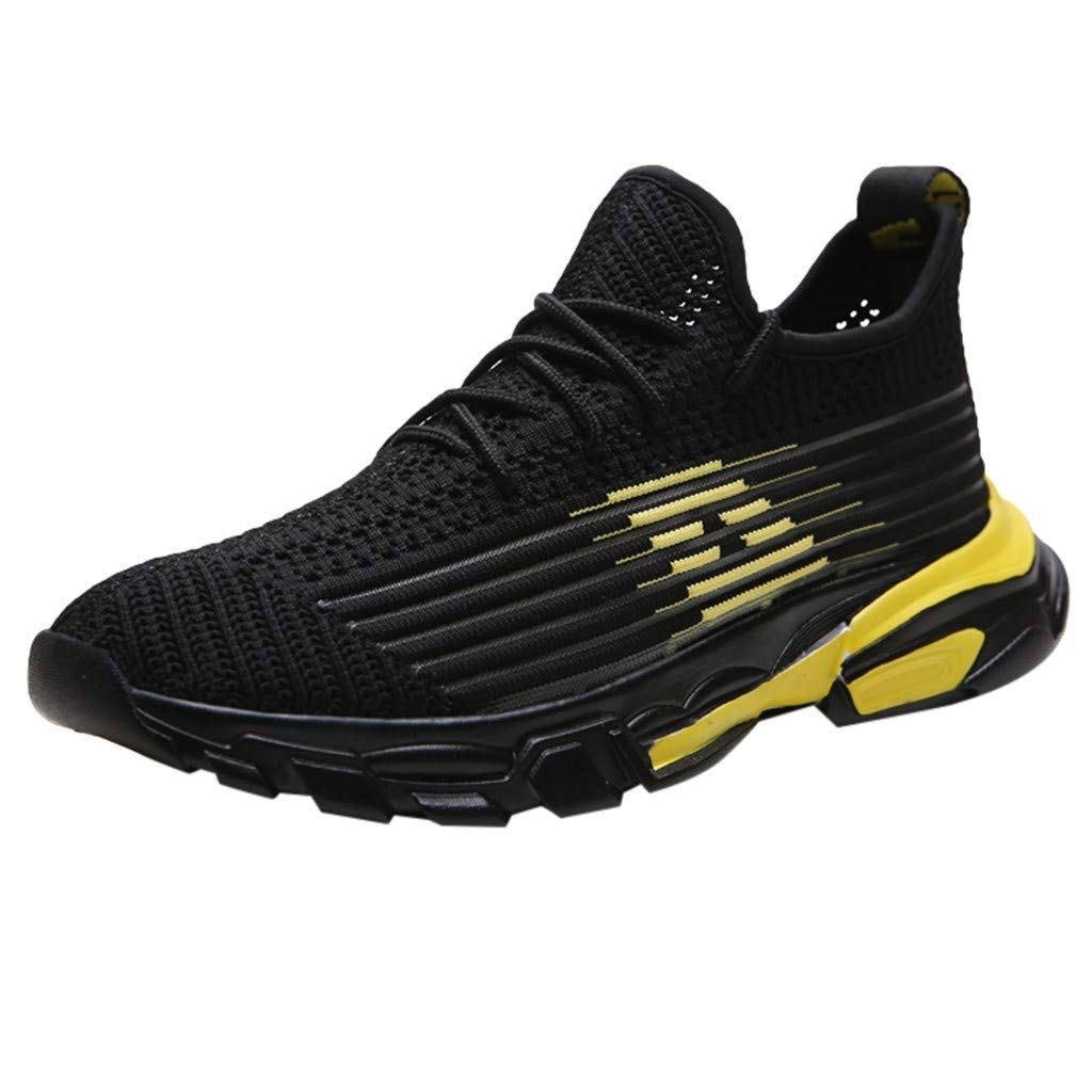 Men Mesh Running Shoes New Breathable Odor-Resistant Non-Slip Casual Outdoor Sports Shoes Male Slip-on Sneakers