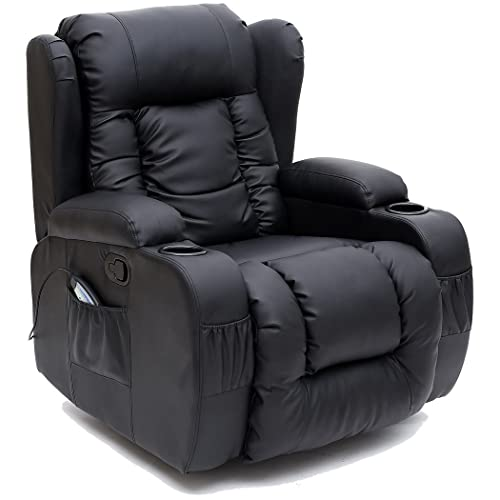 Madison Real Leather Recliner Armchair Sofa Home Lounge