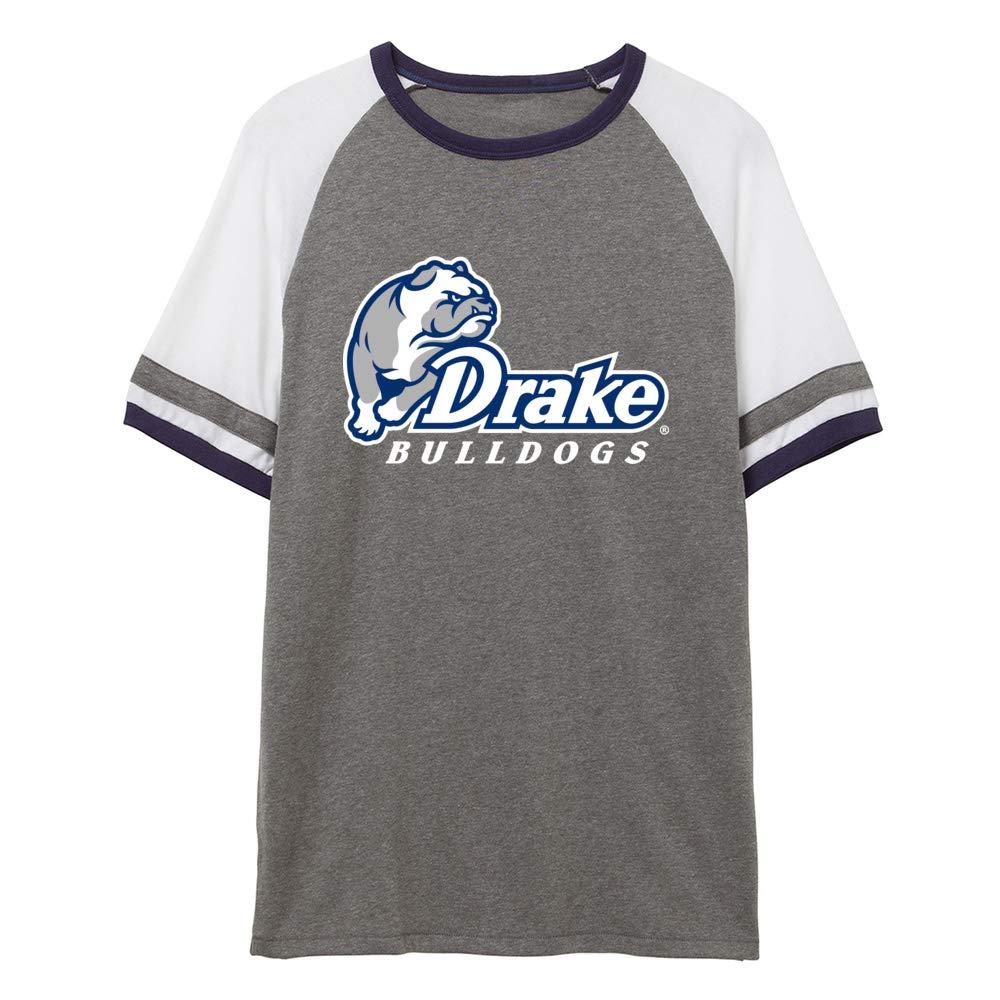 NCAA Drake University Bulldogs RYLDRU06 Unisex Slapshot Vintage Jersey T-Shirt