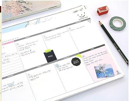 Shager - Agenda y organizador semanal y mensual (A4 ...