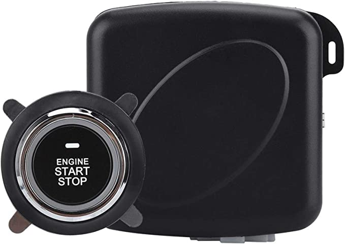 Smart Rfid Auto Alarmanlage Motor Push Button Start Stop Zündschalter Keyless Entry System Starter Anti Theft System Baumarkt