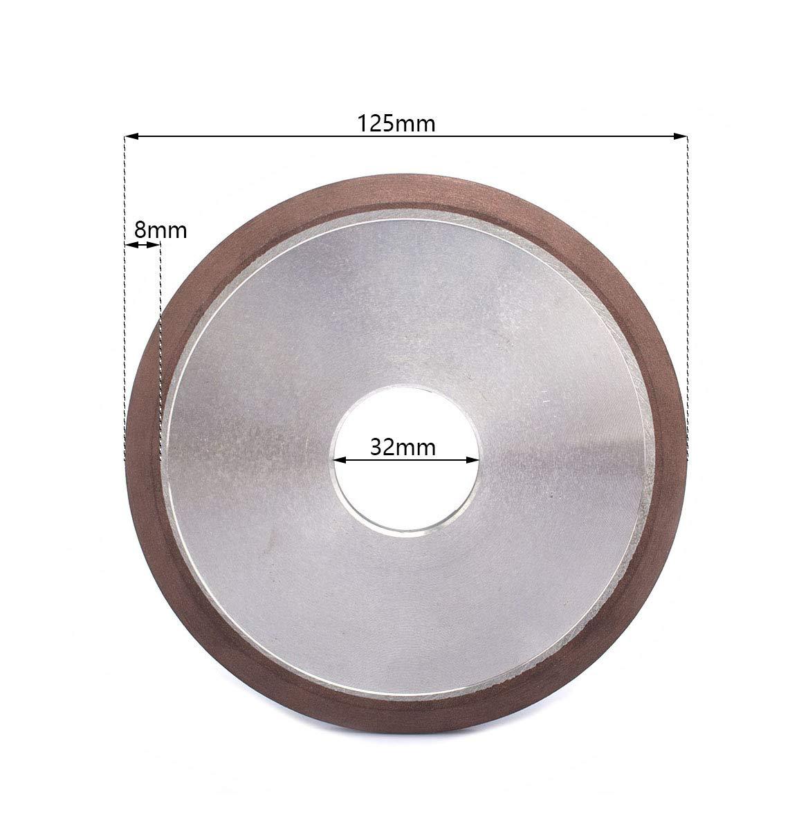 "5/"" Diamond Grinding Wheel Cutter Grinder Carbide Hard Steel Abrasive Tool 125mm"