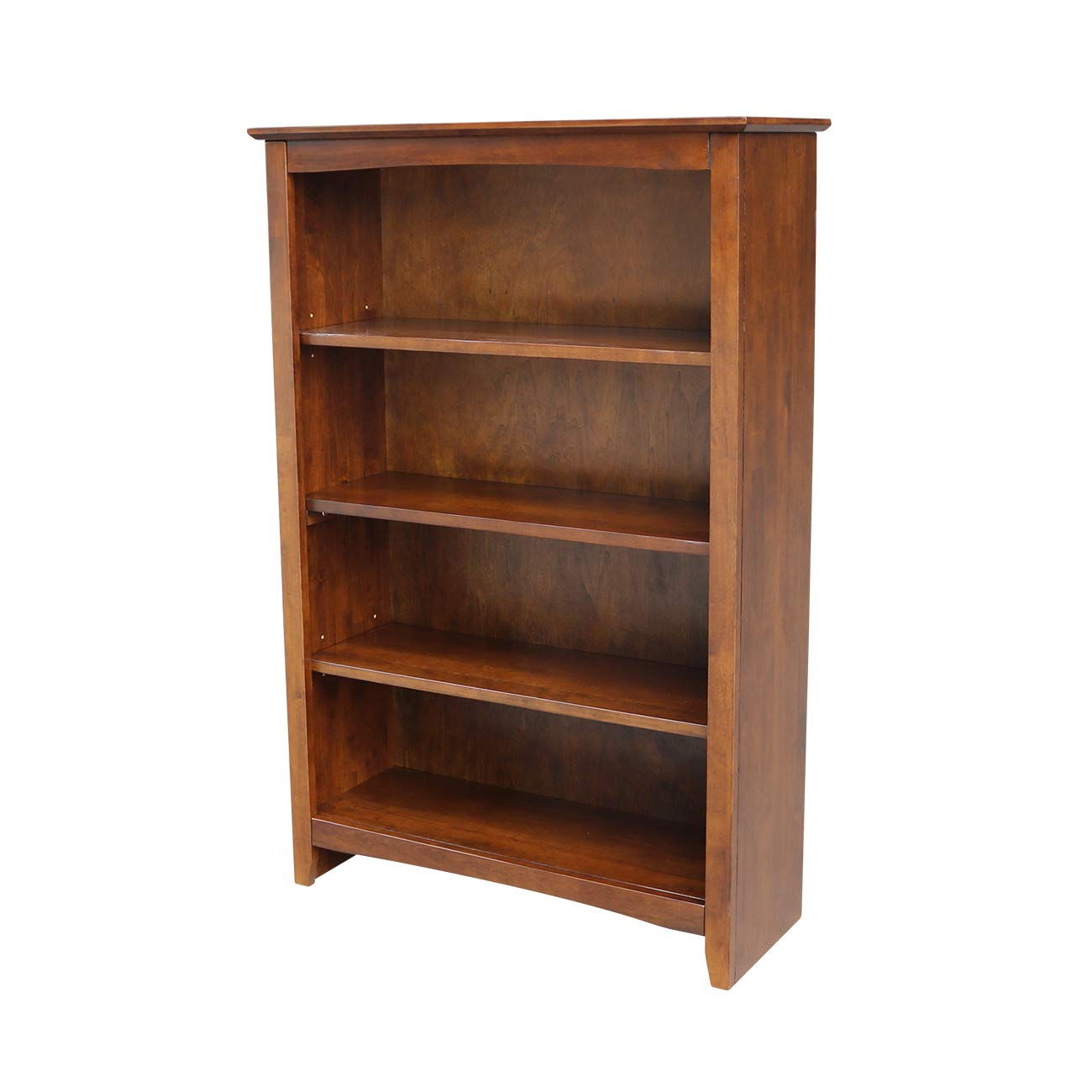 International Concepts Shaker Bookcase, 48-Inch, Espresso