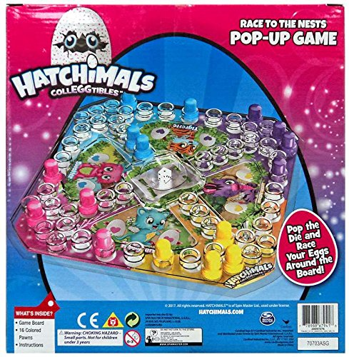 Hatchimals Colleggtibles Pop Up Game Race To The Nest Import It All