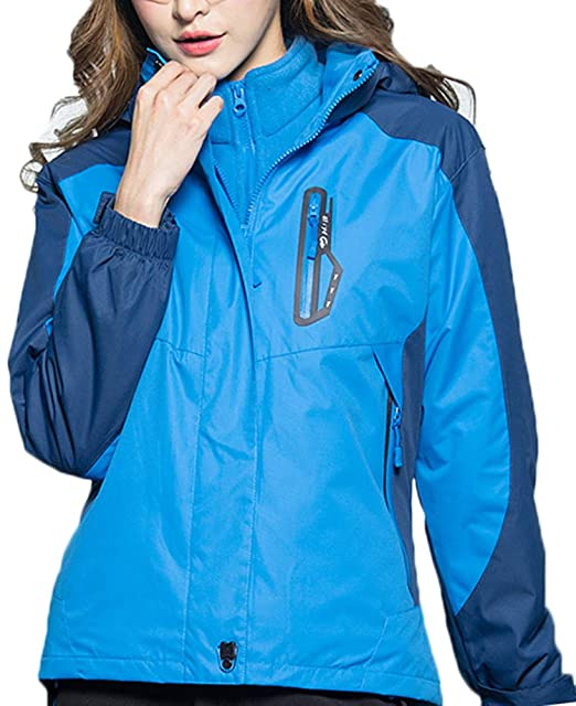 Amazon.com: AbelWay - Chaqueta de esquí con capucha para ...