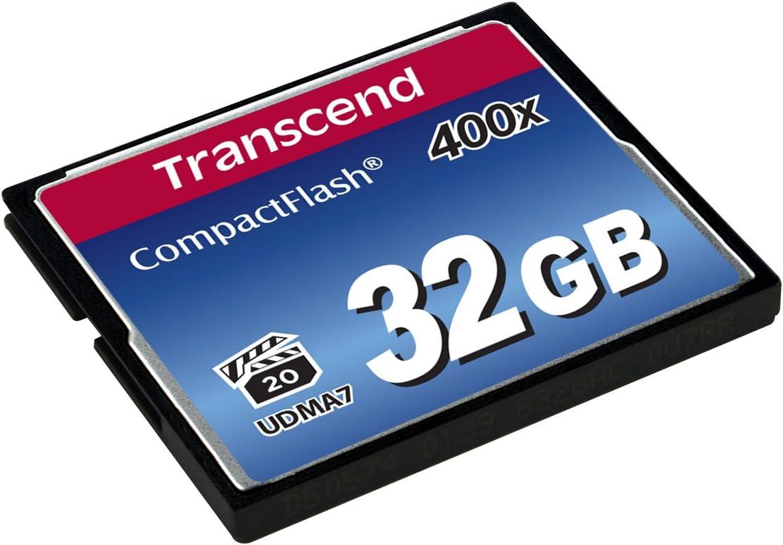 Transcend 32GB CompactFlash Memory Card 400x (TS32GCF400)