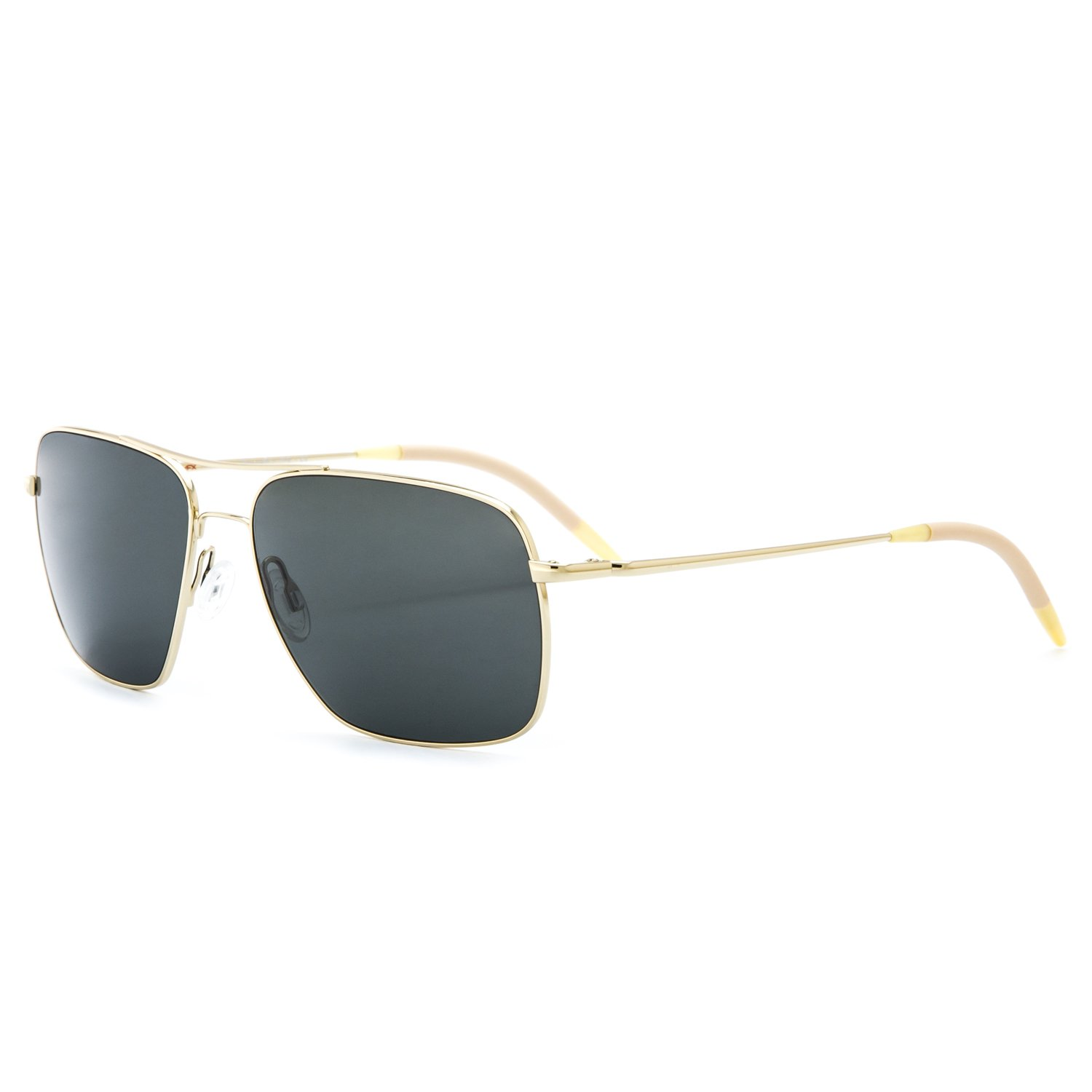 b0abf51e787 Oliver Peoples Clifton Sunglasses 5035 P1 Gold with Grey G15 Polarized  Glass  Oliver Peoples  Amazon.ca  Clothing   Accessories