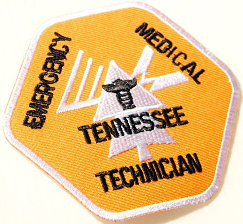 TENNESSEE EMERGENCY MEDICAL TECHNICIAN PARAMEDIC EMT PA DEPT OF HEALTH Logo T shirt Jacket Uniform Patch Sew Iron on Embroidered Sign Badge Costume -