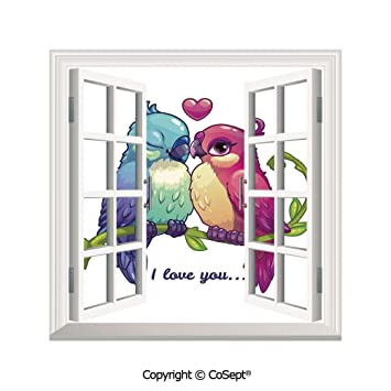 2 Set Quality Chic Home Stickers Wall Decals for Glass Window Door