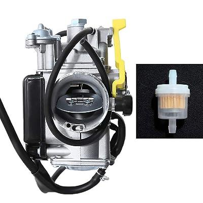 Carburetor Carb Assembly W/Air Filter For Honda TRX400EX 400EX 1999-2004 Sportrax: Automotive