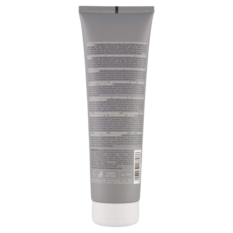 Alama Professional REPAIR Conditioner Ristrutturante per Capelli  Danneggiati e Sfibrati 300 ml Beauty Application AABAPPL18698 420daa96d7ac