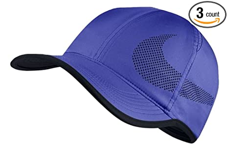Image Unavailable. Image not available for. Color  Nike Unisex AeroBill  Featherlight Tennis Cap ... 94efe270a64a