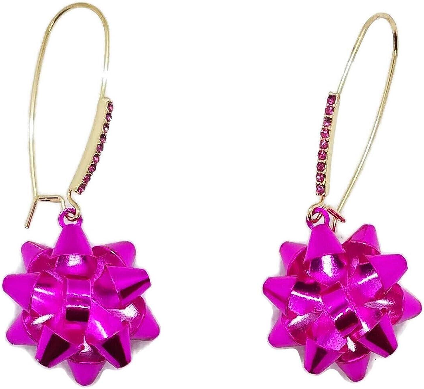 Betsey Johnson Pink Bunny Stud Earrings