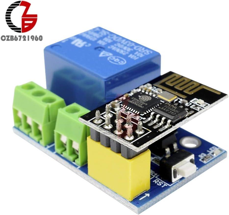 5V WIFI Relay ESP8266 ESP-01S APP for Smart Home Network WIFI Control Board TU