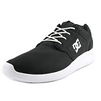 78620f4e3df DC Shoes Men s Midway Black White Sneakers Shoes Sz  8