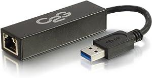 C2G 39700 USB 3.0 to Gigabit Ethernet Network Adapter, Black
