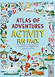 Atlas of Adventures Activity Fun Pack: with a coloring-in book, huge world map wall poster, and 50 stickers