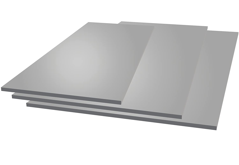 Aluminium Tin Plate Aluminium Tin, 250 mm x 250 mm x 2 mm, 2000 MetalExpres