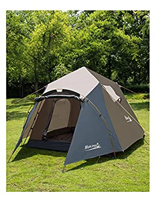 Makino 2-3 person Instant Tent with rainfly for Camping,Backpacking Mountaineering 0053