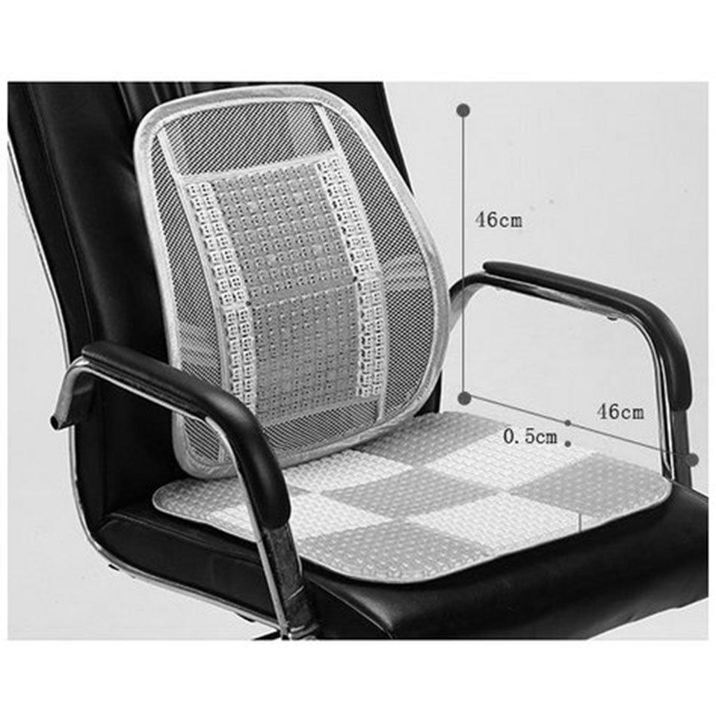 Car seat Cushion for Office Summer Cushion Student Computer Chair Cool pad Summer mat for Non-Slip Chair Cushion Cushion Waist Separated Furniture Accessories