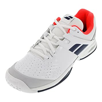 BABOLAT Propulse All Court Enfant Chaussures Tennis Blanc/Bleu, Weiß, Taille 37