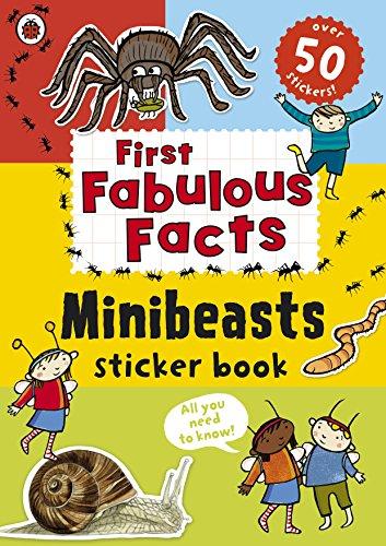 Ladybird First Fabulous Facts Minibeasts Sticker (Preschool Halloween Activities Math)