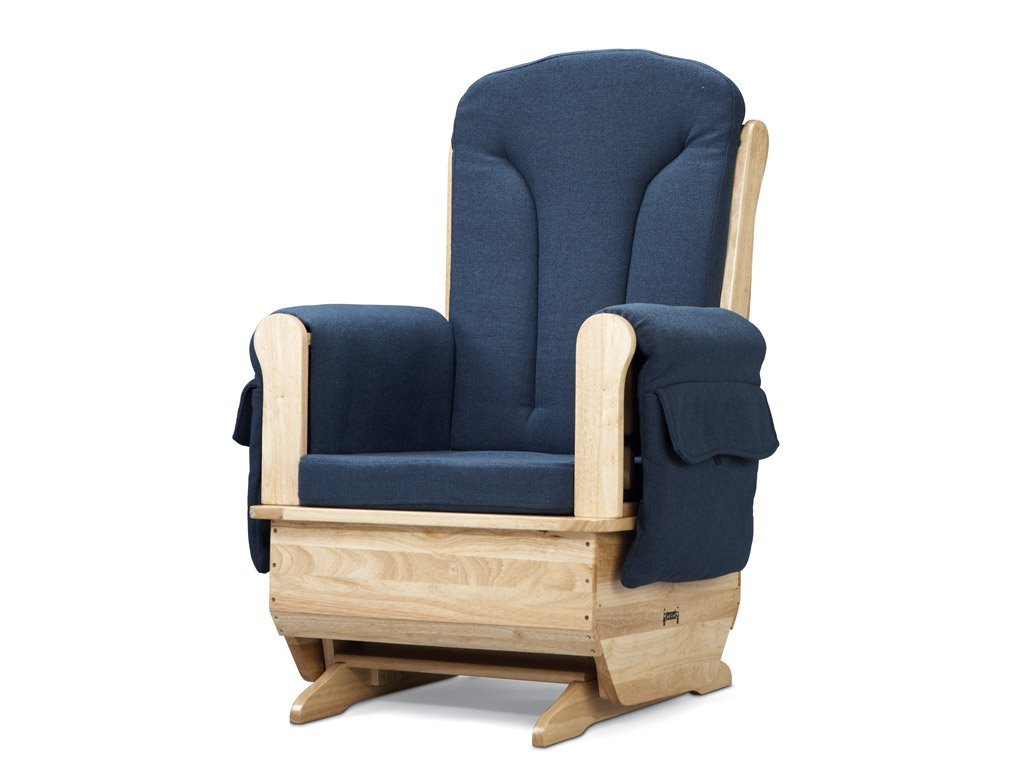 Amazon.com: Jonti Craft 8150JC Glider Rocker With Blue Cushions: Industrial  U0026 Scientific