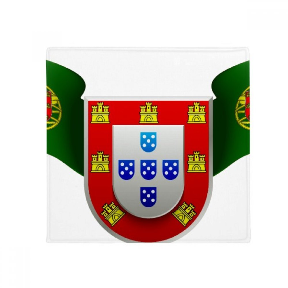 DIYthinker Portugal National Emblem Country Symbol Anti-Slip Floor Pet Mat Square Home Kitchen Door 80Cm Gift