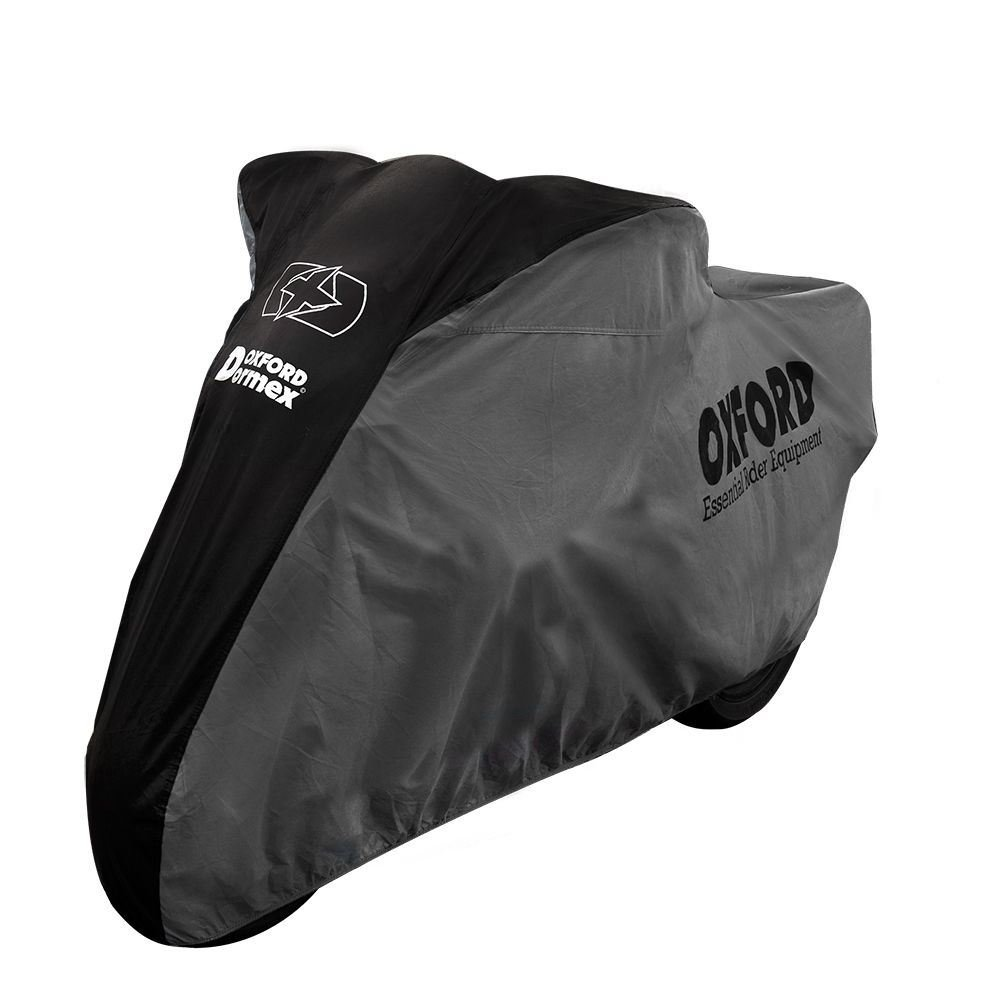 Honda CRF250L Oxford Motorcycle Cover Breathable Motorbike Black Grey