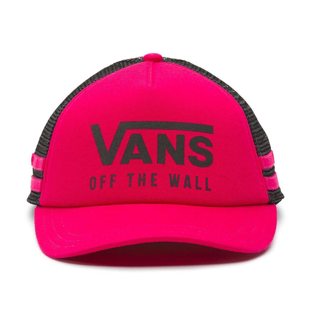50a45a1af4c Vans Wall Women s OL Sport Baseball Trucker Hat Cap - Beetroot Purple at  Amazon Women s Clothing store