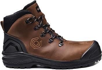 0aaf55a571f Base Chaussures de sécurité BE-STRONG TOP S3 HRO CI HI SRC Marron