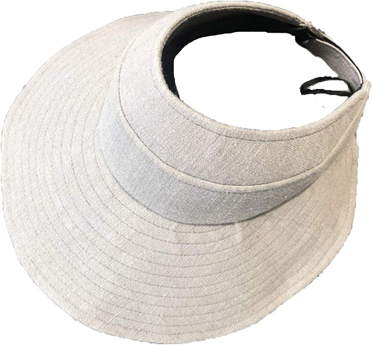 Simple Topless Sun Protection Hat Men and Women Outdoor Sun Hat Folding Cap Portable Foldable Sunhat