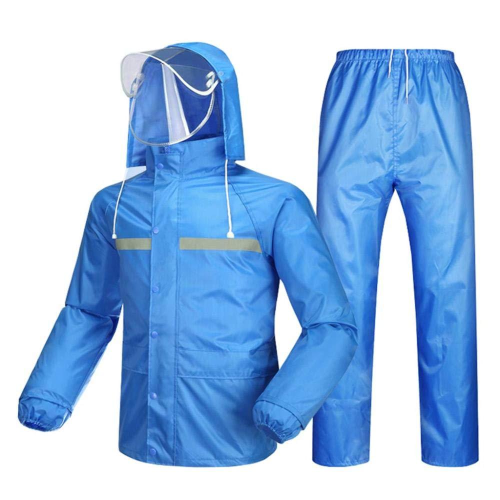 A XX-grand ZJW Veste Et Pantalon Imperméables pour Hommes