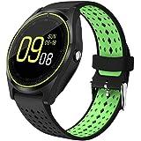 JOKIN V9 Bluetooth Smart watch (Black-Green)