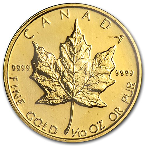 1982 CA Canada 1/10 oz Gold Maple Leaf BU Gold Brilliant Uncirculated