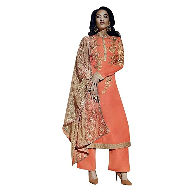 Amazon.com: Diseñador Anarkali boda Salwar Kameez traje ...