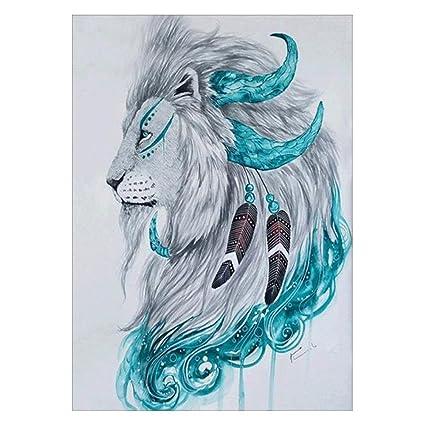 Amazon Com Affeco 7d Diy Diamond Painting Embroidery Animal
