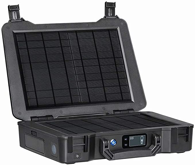 Renogy Phoenix 246.24Wh/150W Portable Generator All-in-one Solar Kit for Outdoors Camping Travel Emergency Off-grid Applications, with 20W Built-in Solar Panel