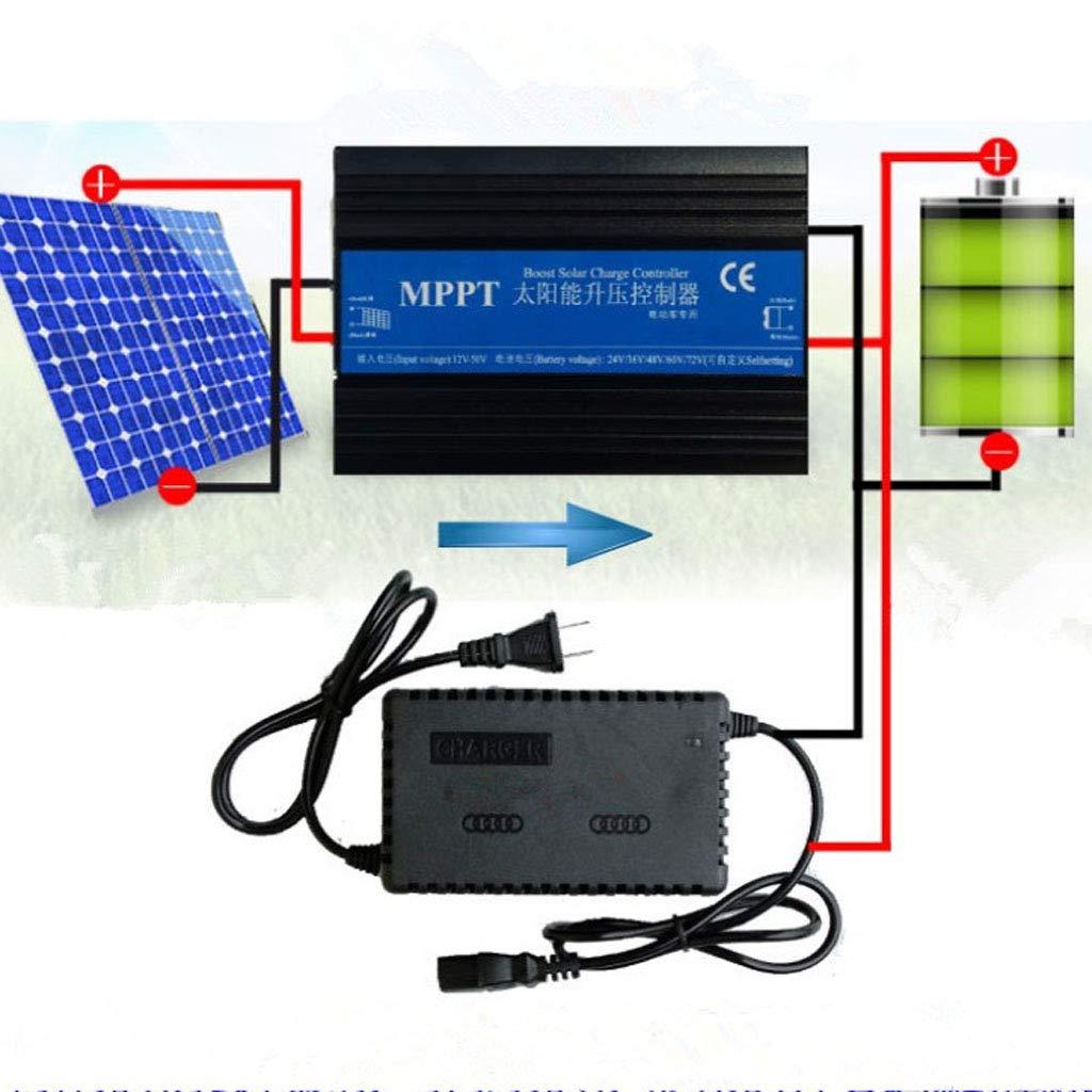 Baoblaze Solar MPPT 24V 36V 48V 60V 72V 10A Solar Laderegler Solarregler Batterie
