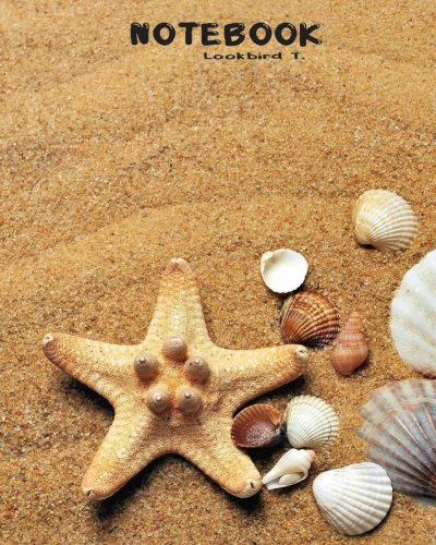 (Notebook: Journal Dot-Grid,Graph,Lined,Blank No Lined : Sea shell starfish : Notebook Journal Diary, 120 pages, 8