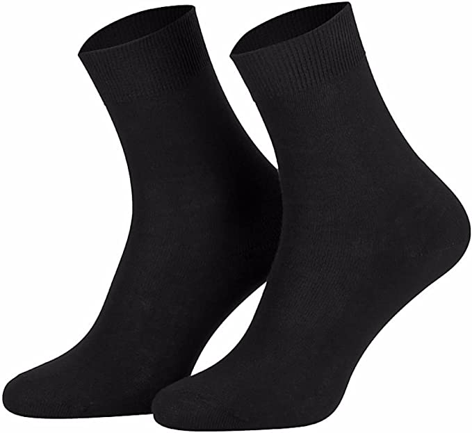 Star Socks Germany 10 pares de calcetines para mujer Negra 100 ...
