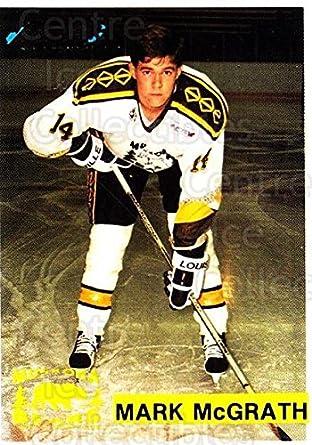Amazon com: (CI) Mark Mcgrath Hockey Card 1991-92 Muskoka Bears 9