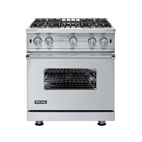Viking gas range Residential Image Unavailable Bbq Guys Amazoncom Viking Vgcc5304bss 30 Professional Custom Series Gas