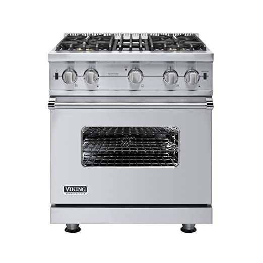 gas cooktop viking. Amazon.com: Viking VGCC5304BSS 30 Professional Custom Series Gas Range - Stainless Steel: Appliances Cooktop I