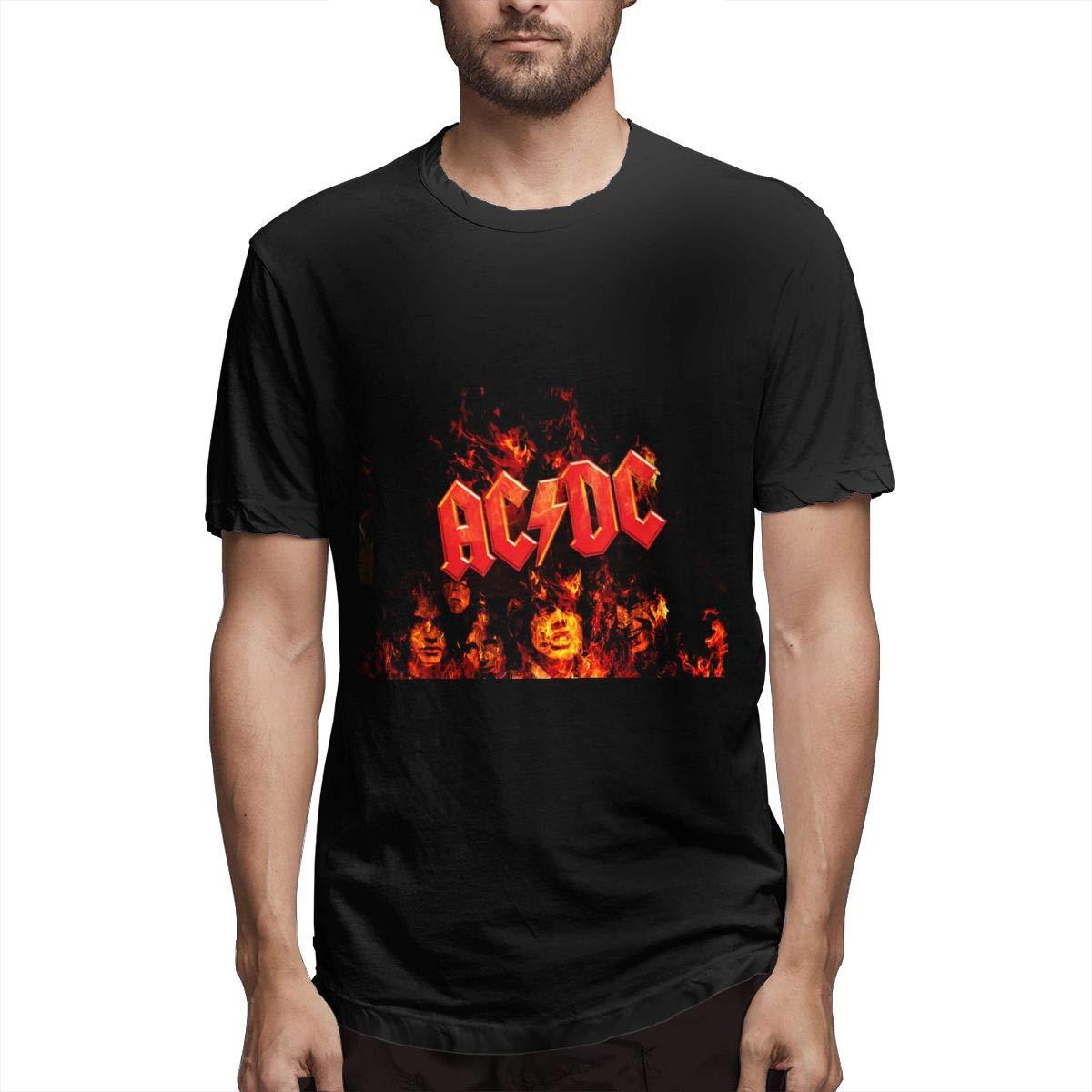 Lihehen S Ac Dc Round Neck Shirts