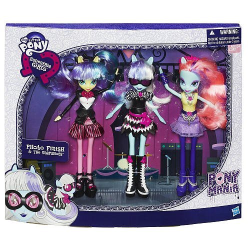 (My Little Pony Equestria Girls Photo Finish and the Snapshots 3-Pack Toys R Us Exclusive)