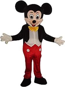 Disfraz de Mickey Mouse de SinoOcean para adultos, disfraz de ...