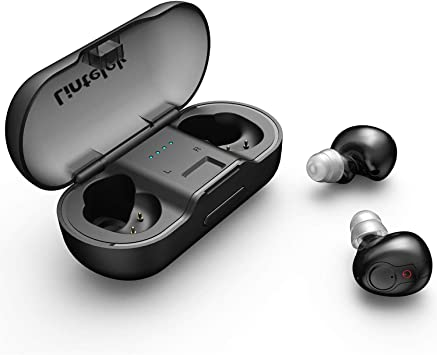 Amazon Com Lintelek Bluetooth Earbuds Wireless Earbuds Stereo Sound Running Headphone With Wireless Charging Case Sports Headsets With 6 Hour Playtime With Mic For Iphone Andorid Phone Or Laptop Home Audio Theater