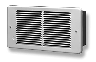 King PAW2422 2250-Watt 240-Volt Pic-A-Watt Wall Heater, Bright White